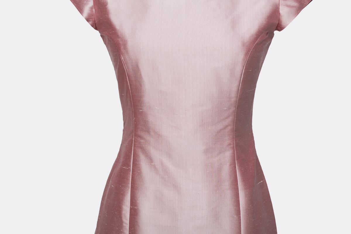 Licht Roze Jurk : Maat jurk