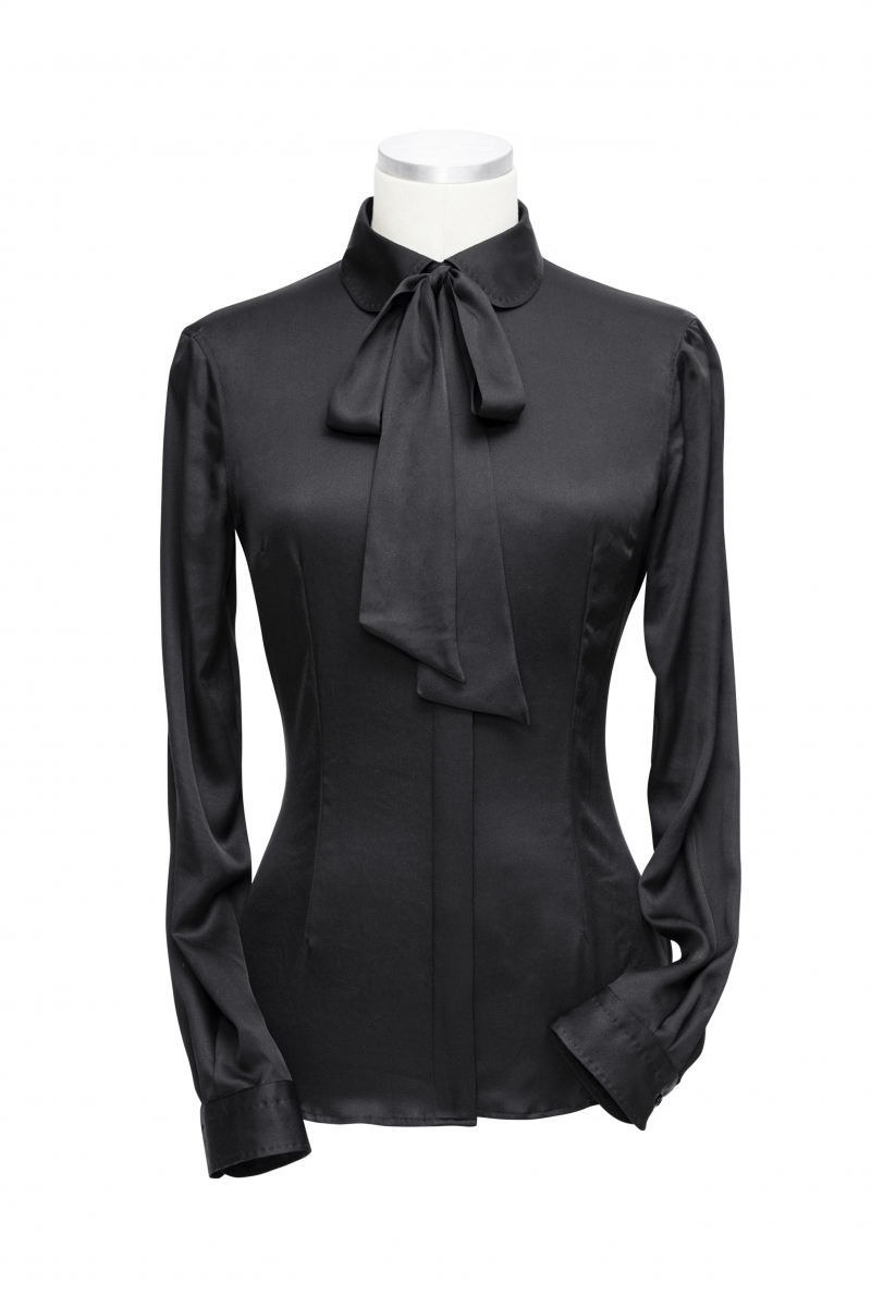 blouse met strik dames
